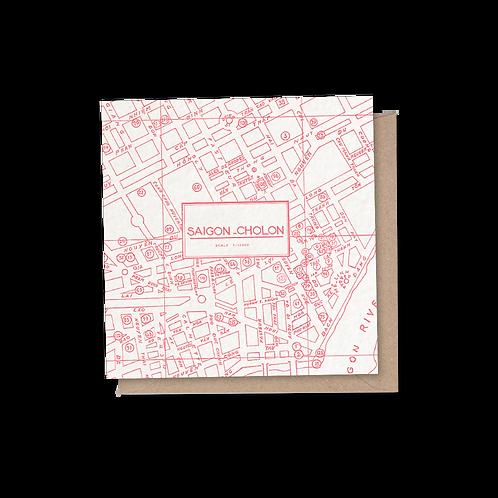 Saigon Card - Red