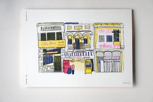 SGB Print 05 Houses of Saigon