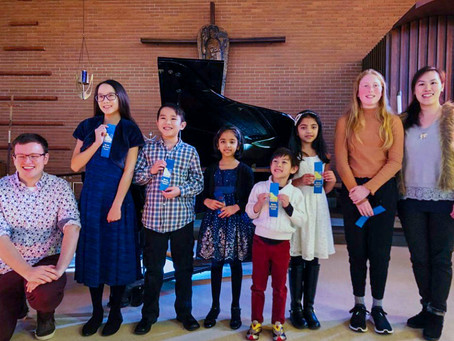 Spring 2019 Young Performer Awards