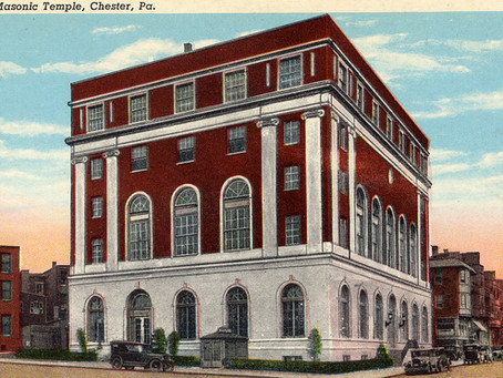 Chester's Masonic Hall aka Temple opens 100 years ago!!