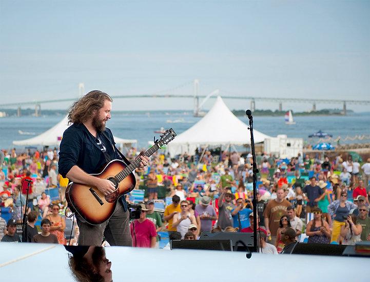 "Jim James ""Sound Check"" Newport Folk Festival 2013"