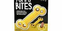 Ruff Play Yummy Bites Yellow Bone Dog Toy