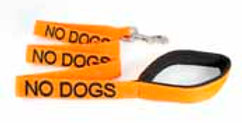 No Dogs Lead - Dog Friendly Collars