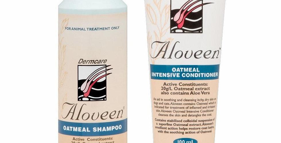 Dermcare Aloveen Shampoo/Conditioner -Starter Pack