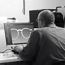 Prototypage de lunettes chez MB Production, fabricant lunettes France