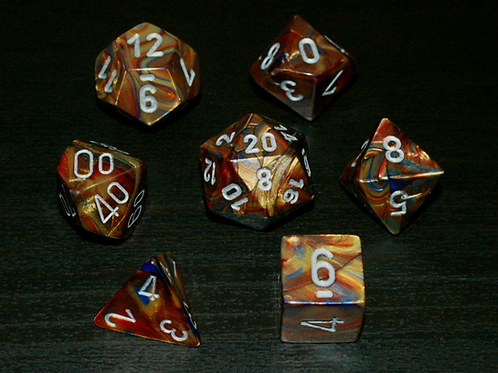 Lustrous Chessex Polyset