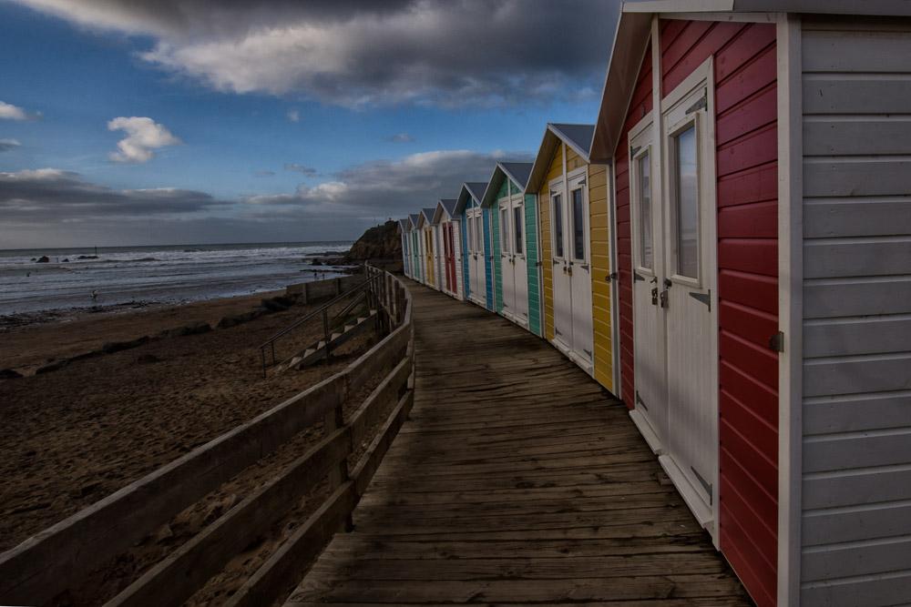 Woolacombe bay huts