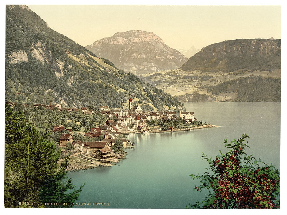 Gersau_and_Frohnalpstock,_Lake_Lucerne,_
