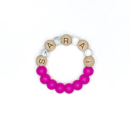 Personalized Teething Ring