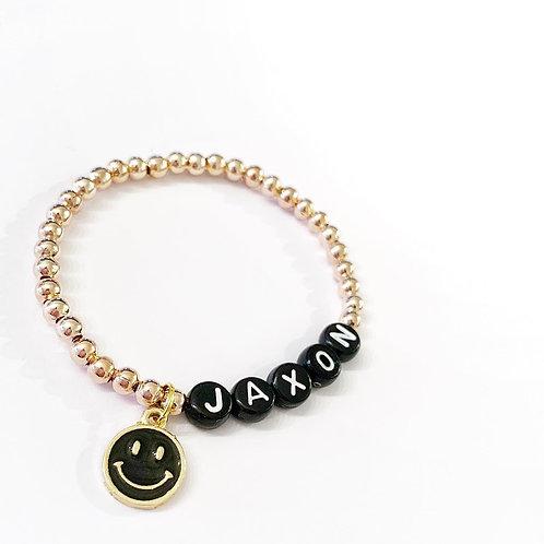 Smiley Face Charm Bracelet