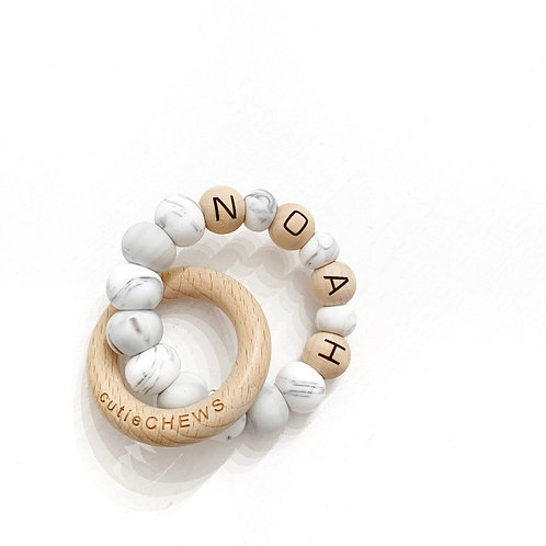 Personalized BeechWood Ring