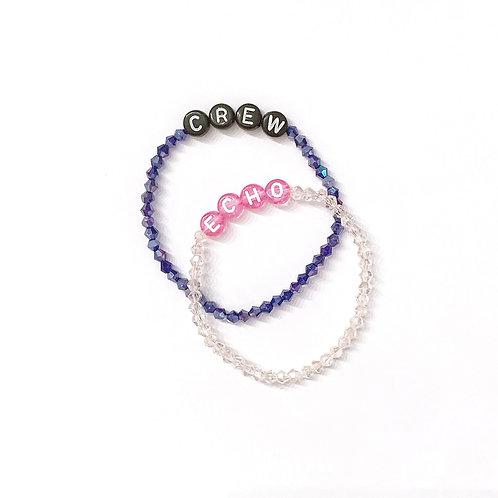 Austrian Crystal Beaded Name Bracelet