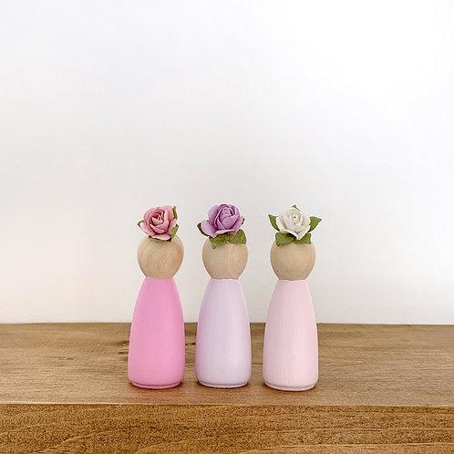 Flower Girls (Set of 3)