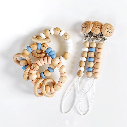 Abacus miniCHEW & Teething Ring (Set)