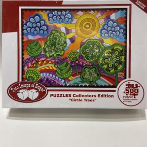 Circle Trees 500 Piece Puzzle $19.50