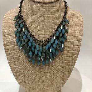 Layered Stone Necklace $34.95