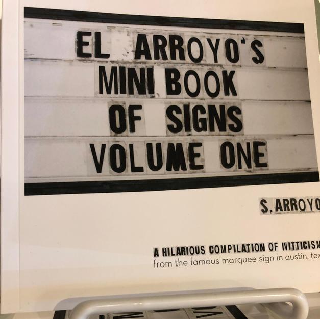 El Arroyo's Book of Signs $15