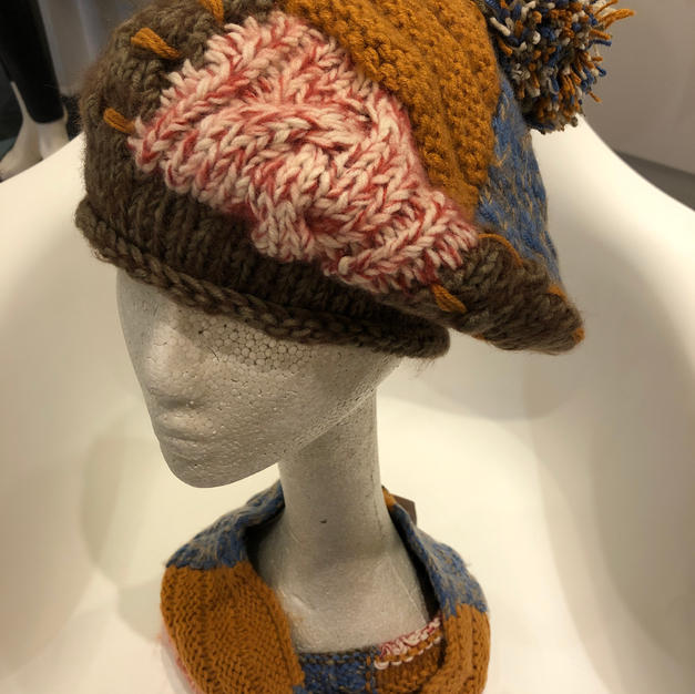 Matching Hat & Scarf, Sold Separately $1