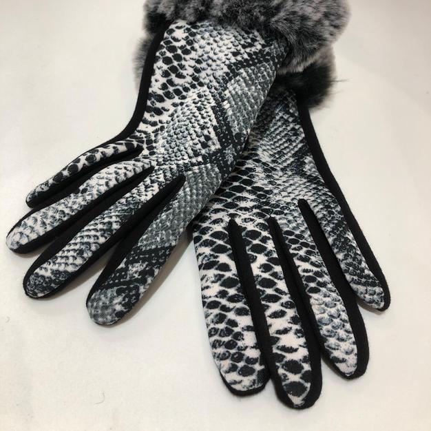 Fur Cuffed Gloves $17.95