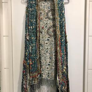Reversible Tapestry Vest $67.50