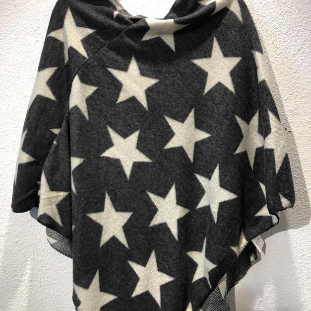 Star Poncho $42
