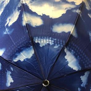 Blue Skies Reverse Close Umbrella $37
