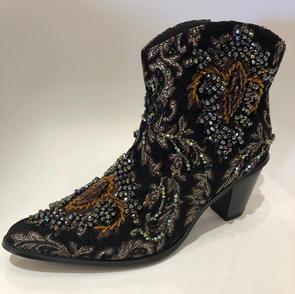 Sequined Embellished Bling Boot $225