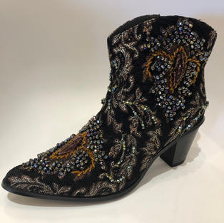 Sequined Embellished Bling Boot $225