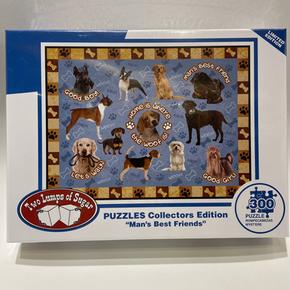 Man's Best Friends 300 Piece Puzzle $19.