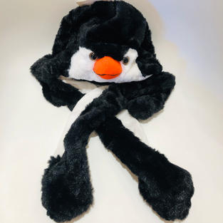 Animated Penguin Kids Hat $24.95