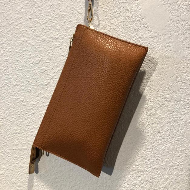 Brown Clutch $28