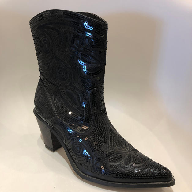 Sequined Bling Boot $125