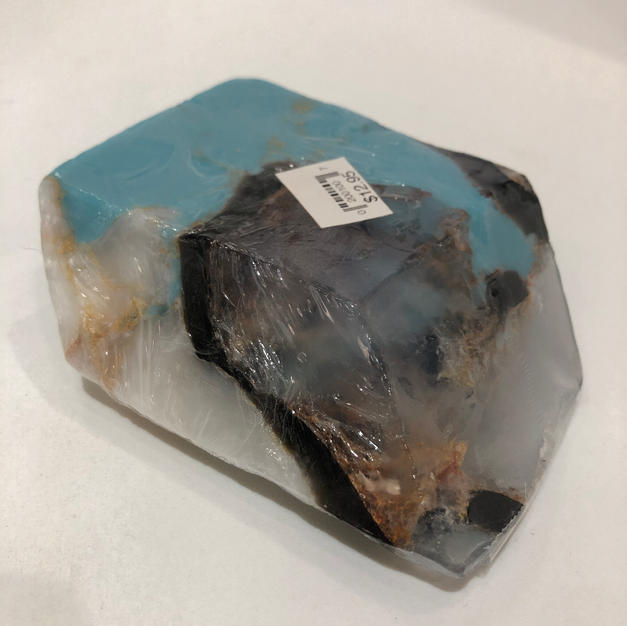 Turquoise Birthstone Soap Rock $12.95