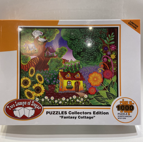 Fantasy Cottage 1000 Piece Puzzle $19.50