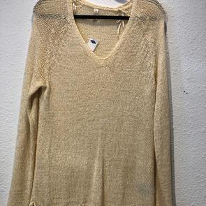 Long Sleeve Cream Sweater $26.50