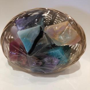 """Soap """"Rocklets"""" Assorted Gift Basket $17.95"""