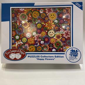 Happy Flowers 300 Piece Puzzle $19.50