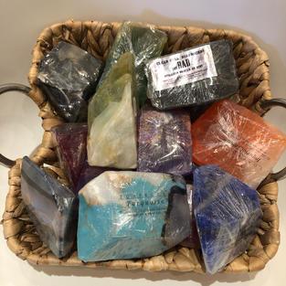 Birthstone Soap Rocks $12.95ea