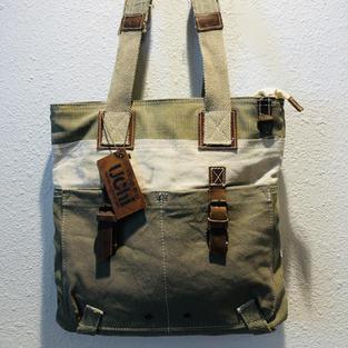 Repurposed Canvass Shoulder Bag $31
