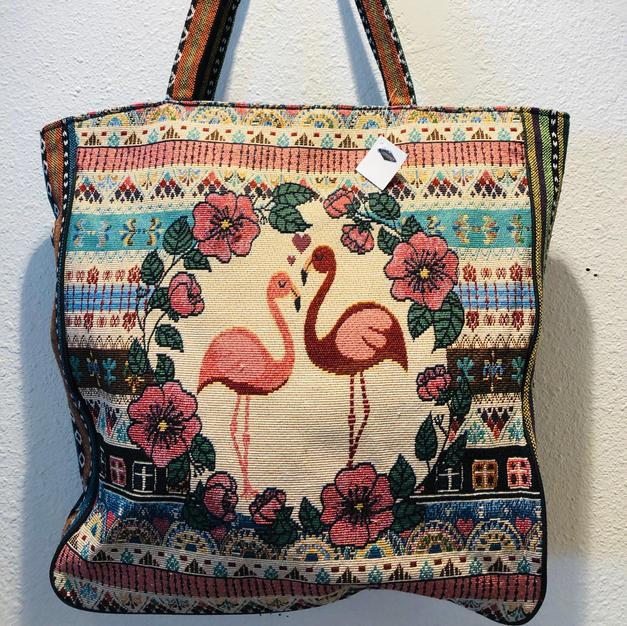 Flamingo Travel Tote $32.50