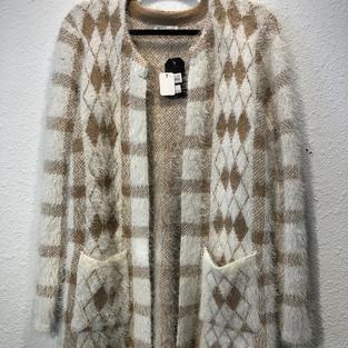 Harlequin Cardigan $37
