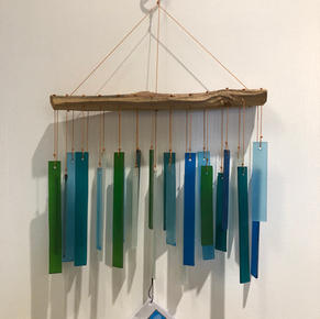 Glass Wind Chime $24.95