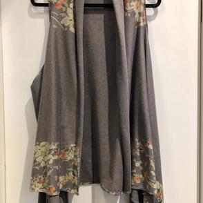 Floral Vest $36.50