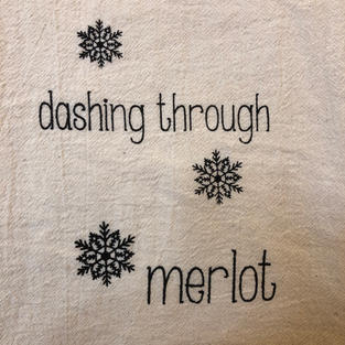 Cotton Dish Towel $12.95