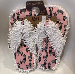 LLAMA FEET SPA SLIPPERS $19.95