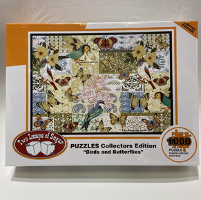 Birds and Butterflies 1000 Piece Puzzle