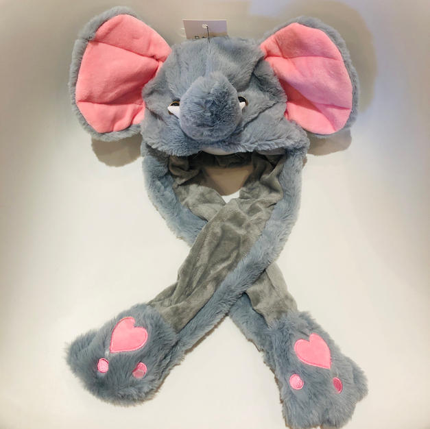 Animated Elephant Kids Hat $24.95