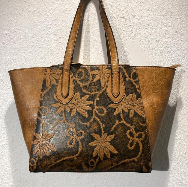 Tan Shoulder Bag $52