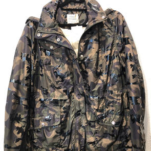 Fleece Lined Shiny Camo Jacket $29