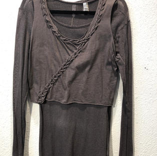 Two Piece Long Sleeve Top $24